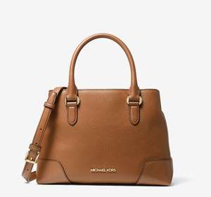 Michael Kors Crosby Small Leather Satchel Now £99 - Free delivery @ Michael Kors