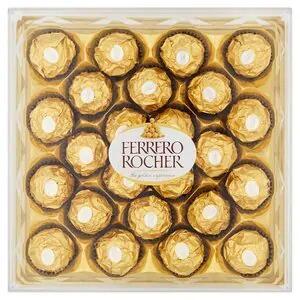 Ferrero Rocher Chocolate Box of 24 £3.50 / Ferrero Rocher Mixed 24 £3.50 / Box of 16 £2.25 - Order & Collect @ Superdrug
