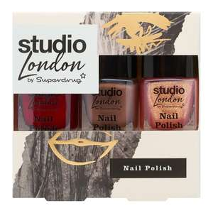 Nail set studio London £1.50 Superdrug