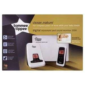 Tommee Tippee Closer to Nature Sensor Maternity Baby Monitor £53.50 @ Superdrug