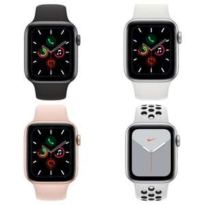 APPLE Watch Series 5 Cellular 40mm or 44mm Watches - £329 each delivered @ Currys PC World