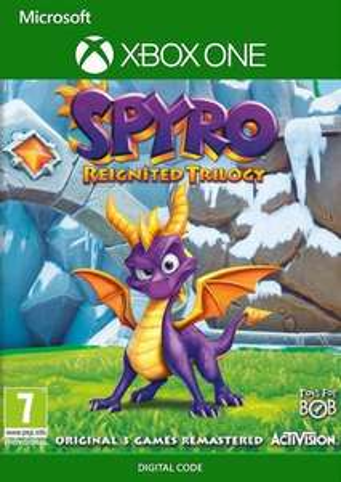 [Xbox One] Spyro Reignited Trilogy - £10.99 @ CDKeys