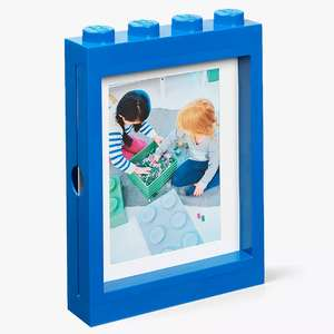 LEGO Storage Picture Frame, Blue £10.49 John Lewis & Partners + £2 Click & Collect / £3.50 delivery