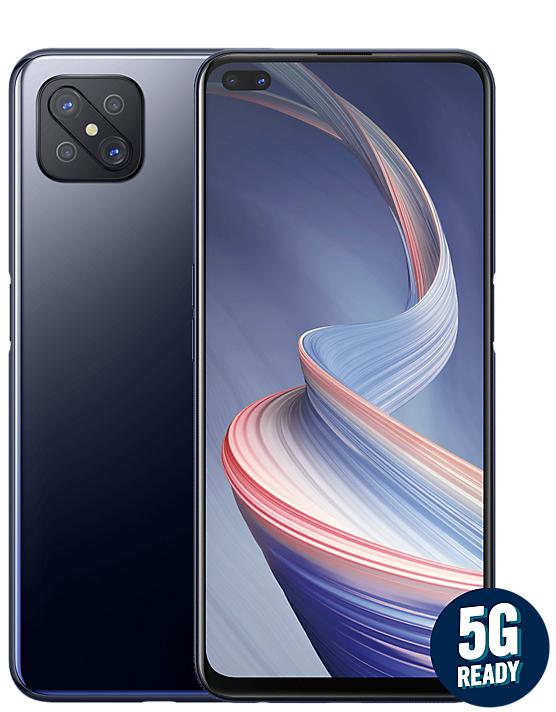 OPPO Reno4 Z 5G Smartphone 128GB 3 Colours - £239 (+ £10 Topcashback) @ Carphone Warehouse