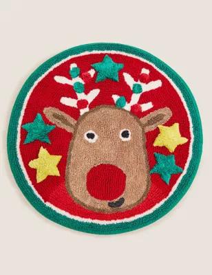 Pure Cotton Reindeer Bath Mat £6.50 @ Marks & Spencer - Free C&C
