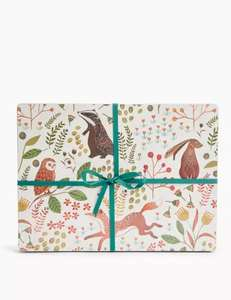 Set of 4 Woodland Print Placemats £5 @ Marks & Spencer - Free C&C