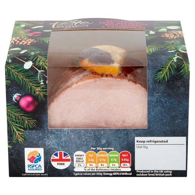 75% Off Various Ham & Turkey Joints @ Sainsbury's (e.g Sainsbury's Brunswick Ham 900g £2.50 /Turkey Topped with Stuffing & Bacon 1kg £4.37)