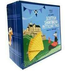 Scottish Shortbread Petticoat Tails 450g - 50p Marks & Spencer in-store at Bishopbriggs