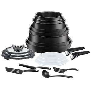 '20 piece' Tefal Ingenio (All hob types) pan set - £172.98 Delivered @ Ideal World TV