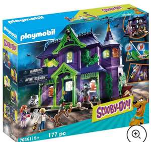 Playmobil Scooby Doo! Mystery Mansion (70361) - £71.99 delivered with code from IWOOT - Normal price £89.99