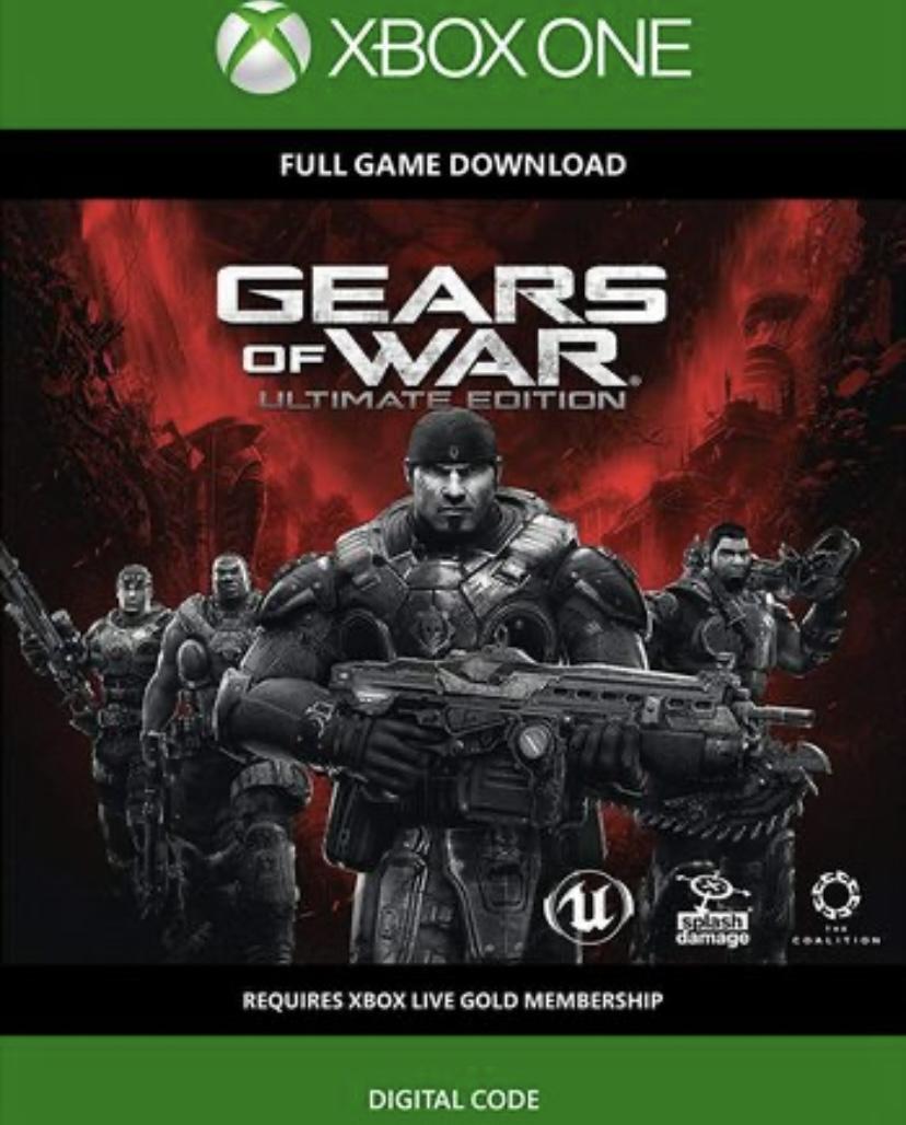 GEARS OF WAR: ULTIMATE EDITION XBOX ONE £1.99 @ CDKEYS