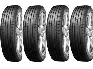 4 x Fitted Goodyear Eagle F1 Asymmetric 5 - 225/45 Tyres £288.96 with code - mobile fitting included @ Halfords