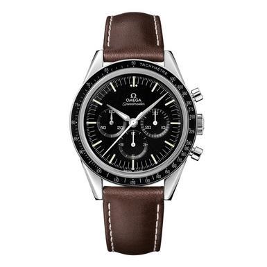Omega Speedmaster Moonwatch Men's Brown Leather Strap 40mm Manual Wind Watch £3000 @ Ernest Jones