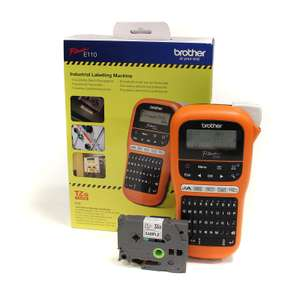 Brother PTE110 Handheld Label Printer - £23 + Free Collection @ Toolstation