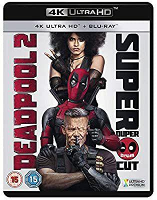 Deadpool 2 [4K UHD + Blu-ray] [2018] £9.99 @ Amazon (£2.99 p&p non prime)