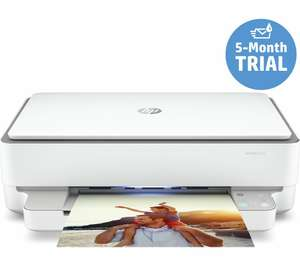 HP ENVY 6032 All-in-one Wireless Inkjet Printer with 5 month free trial of HP Instant Ink (possible £15 cashback) - £59.99 @ Currys