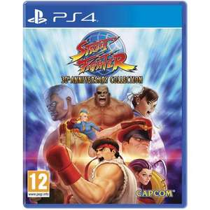 Street Fighter: 30th Anniversary Collection (PS4) £10.79 Delivered @ MyMemory