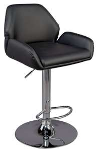 Barber Gas Lift Barstool - Black - £25 (free click+collect) @ Argos