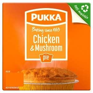 Pukka Pie (Chicken & Mushroom / All Steak / Steak & Kidney / Steak & Onion) £1 @ Sainsbury's