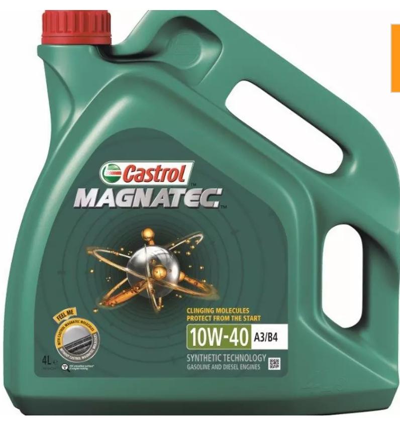 Castrol Magnatec 10W40 A3 B4 Oil 4 Litre Free C&C £16.99 @ Halfords