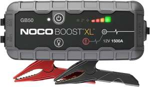 NOCO Boost XL GB50 1500 Amp 12-Volt UltraSafe Portable Lithium Jump Starter, Car Battery Booster Pack, And Jump Leads £118.99 Amazon