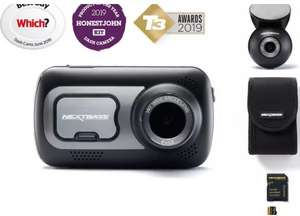 Nextbase 522gw Front & Rear Camera bundle + 32GB U3 microSD card, works with Alexa - £152.10 with code Delivered @ Halfords