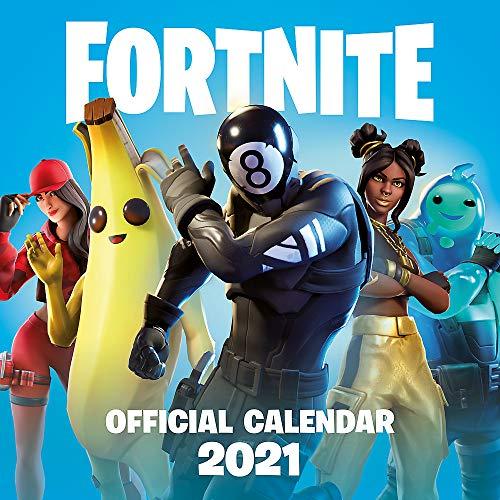 FORTNITE Official 2021 Calendar £5.49 (Prime) or £5.49 + £2.99 NonPrime @ Amazon
