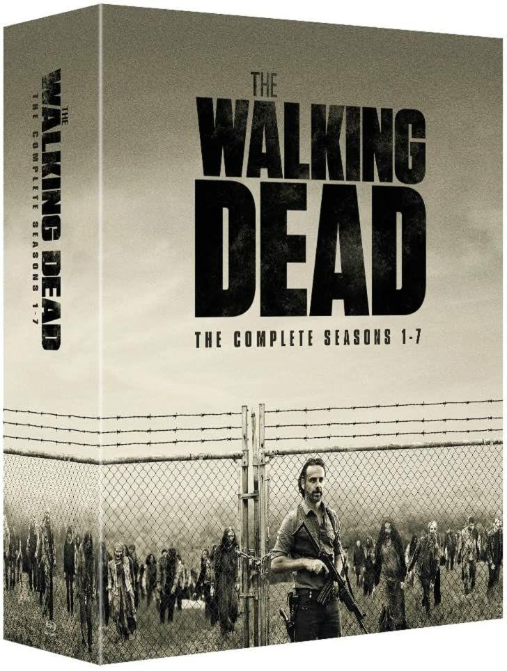 The Walking Dead Seasons 1-7 [32 discs-99 episodes-Blu-ray] [2017] £17.99 (£2.99 p&p non prime) @ D&B entertainment/Amazon