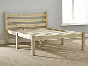 Strictly Beds and Bunks - Somerset Pine Bed Frame, 4ft 6 Double £100 @ Amazon