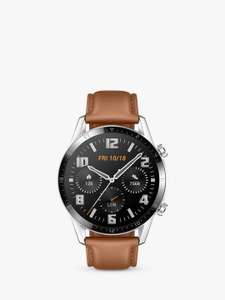Huawei Watch GT 2 Smart Watch with GPS, 46mm, Pebble Brown - £129 @ John Lewis & Partners
