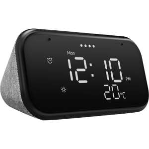"""Lenovo Smart Clock Essential with Google Assistant - 3.8"""" Screen - Black - £20 delivered @ AO"""
