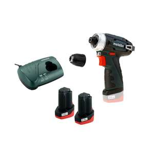 Metabo bs basic 10.8v cordless drill driver inc 2x 2.0ah batteries £69.95 @ Power tool world