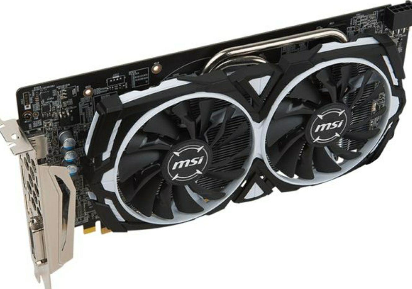 MSIRadeon RX 580 8GB Armor OC Graphics CARD GPU £195 @ Currys