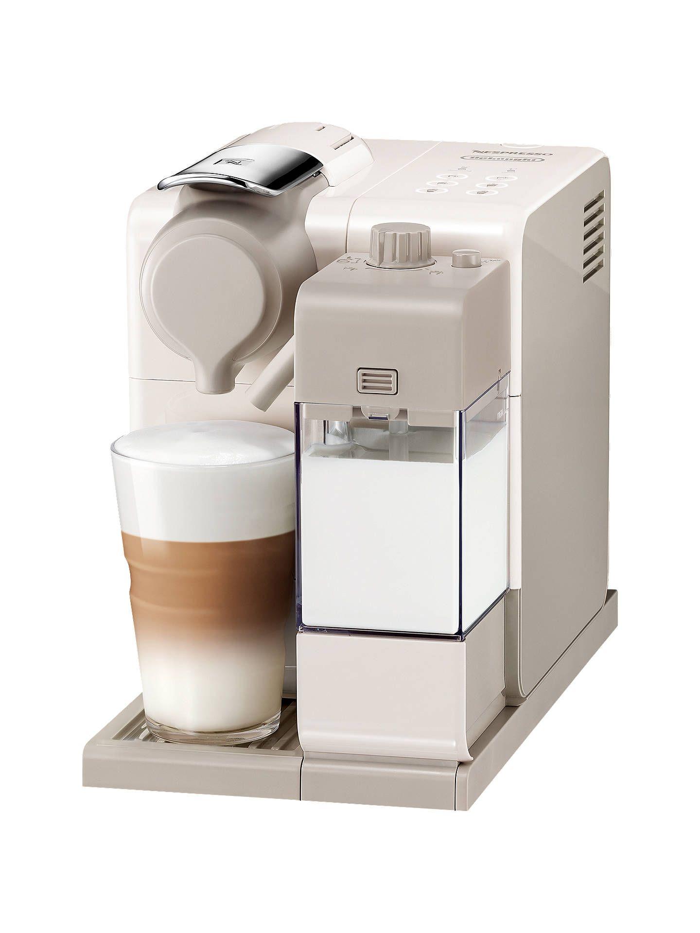 Nespresso Lattissima Touch Coffee Machine, White £149 @ John Lewis & Partners