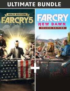 Far Cry New Dawn Ultimate: FC 5 Gold (Game + SP + FC 3 Classic) & FC New Dawn Deluxe (PC) - £19.99 (£9.99 with voucher) @ Epic Games