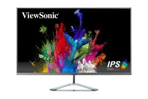 ViewSonic VX3276-2K-mhd 32 inch LED IPS Monitor - 2560 x 1440, 4ms, Speakers - £187.58 @ CCL / ebay + £9.35 Nectar Points