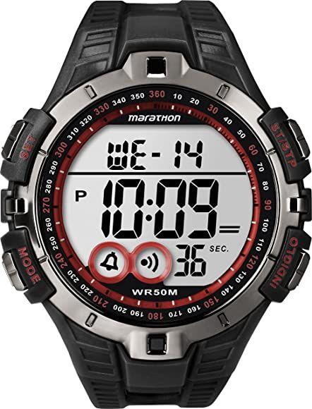 Timex Men's Marathon by Timex Digital Full-Size Watch - £16.49 Prime (+ £4.49 Non Prime) @ Amazon