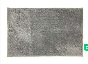 Easycare Grey Bath Mat £2.45 with free collection @ Dunelm