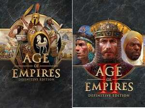 [PC] Age of Empires Definitive Edition for £1.29 & AOE II Definitive Edition for £2.65 @ Microsoft Brazil Store