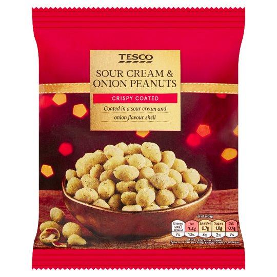 Tesco Sour Cream & Onion Peanuts 200G - 50p @ Tesco