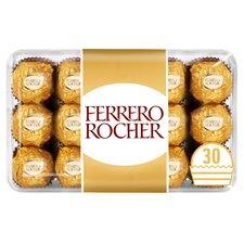Ferrero Rocher Boxed Chocolates 375G (30 pcs) £3.50 / Cadbury Diary Milk Mixed Chocolate Chunks Tin 396G £2.50 @ Tesco from tomorrow