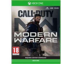 Call of Duty: Modern Warfare XBox Game, £30.99 at Argos (Free to collect)
