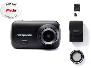Nextbase 222 dash cam limited edition bundle £69 at Halfords