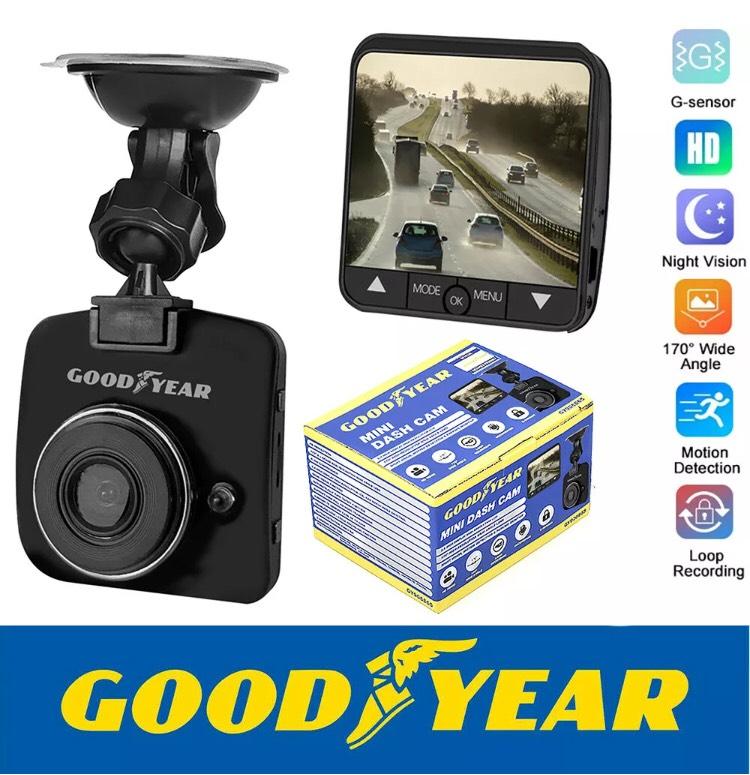 Goodyear Mini HD Dash Cam Car DVR Camera Video Recorder Motion Detection Sensor £24.99 @ ebay/thinkprice