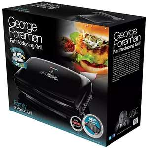 George Foreman Grill with removable plates £47 delivered at Freemans