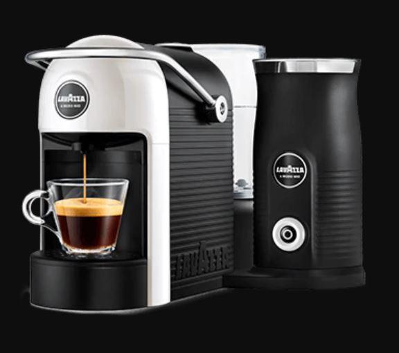 Jolie & Milk Coffee machine including Milk frother £64.50 @ Lavazza