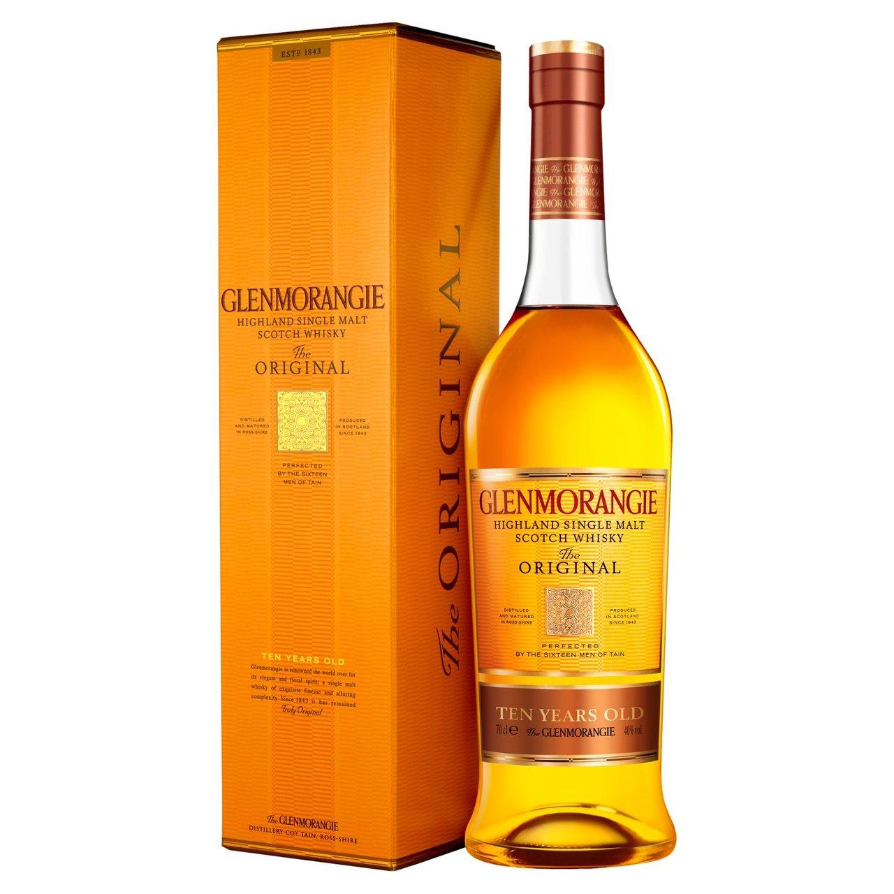 Glenmorangie 10 year old malt whisky £20 instore @ Morrisons Glasgow Fort