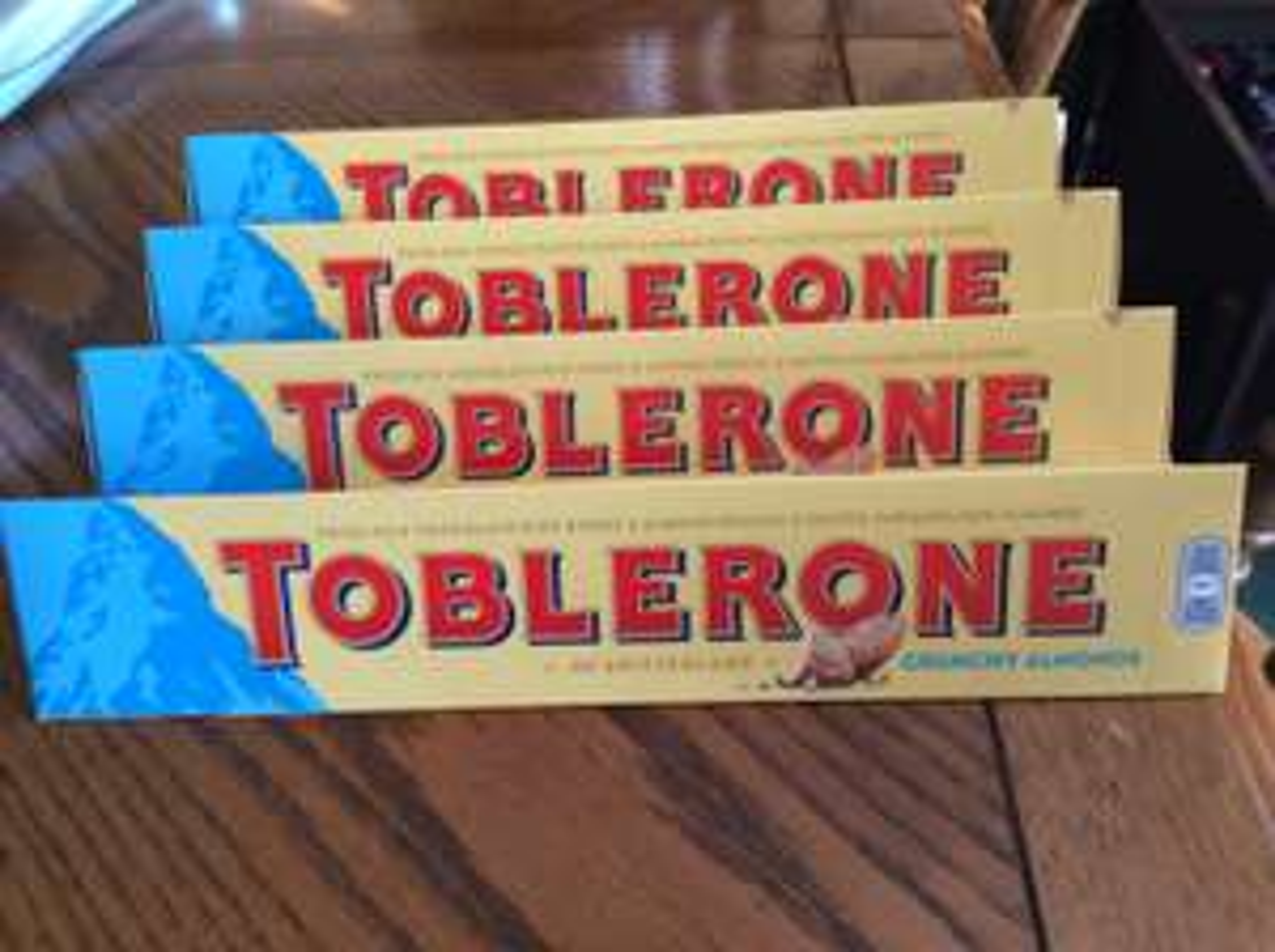 Toblerone crunchy almonds 360g for £1 @ Asda Redditch