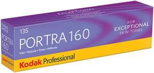 Portra 160 35mm Film (5 Pack) £40 +£5 delivery @ Camera World