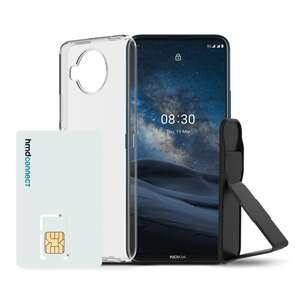 Nokia 8.3 5G case, grip & stand/roaming sim bundle £349.99 @ Nokia